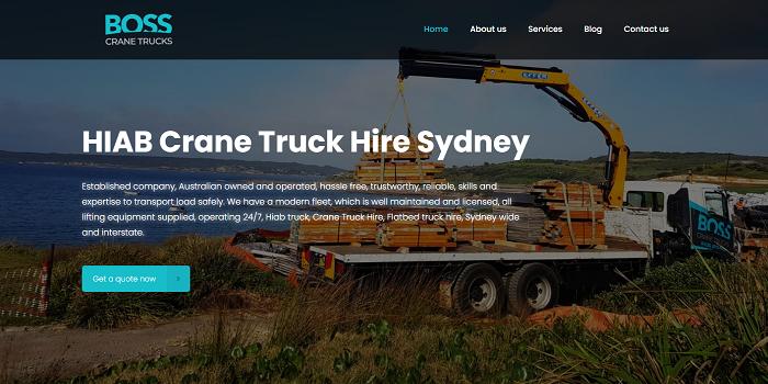 Crane Truck Hire Sydney